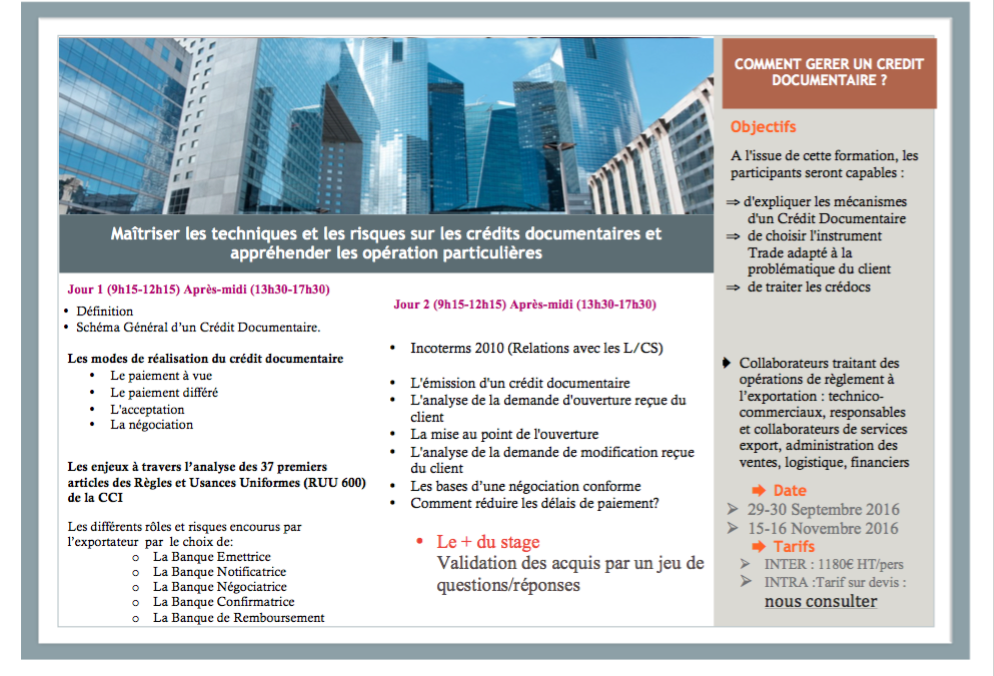 Ncc new concept consulting session formation comment for Chambre de commerce franco arabe