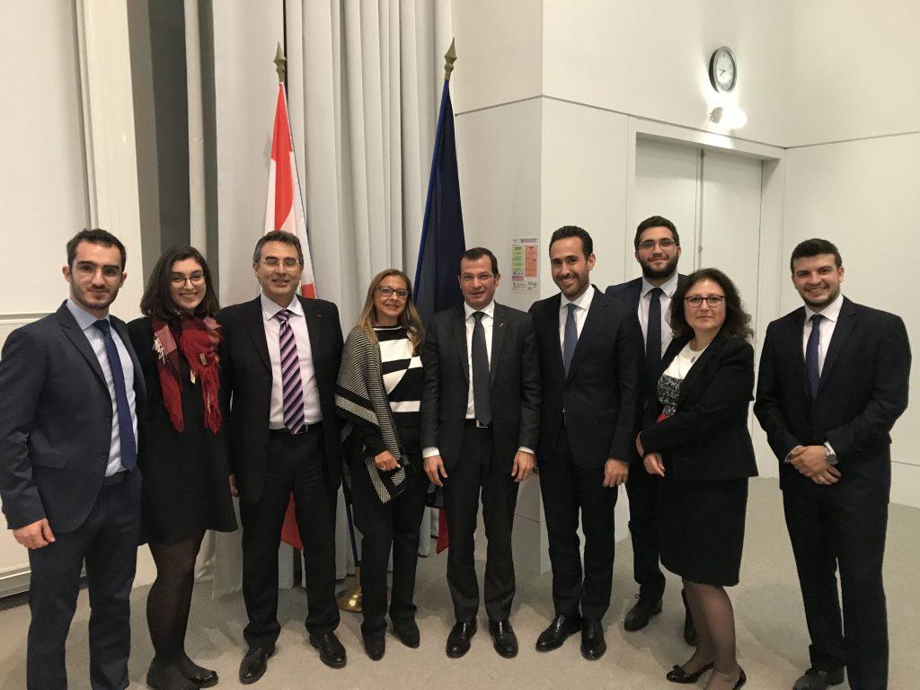 Ncc new concept consulting photos d exception lors de la conf rence d alain bifani hec - Chambre de commerce franco arabe ...